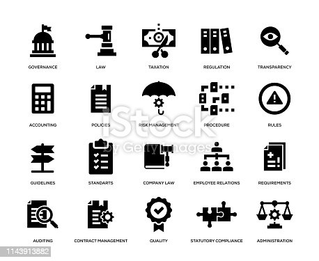 Compliance Icon Set