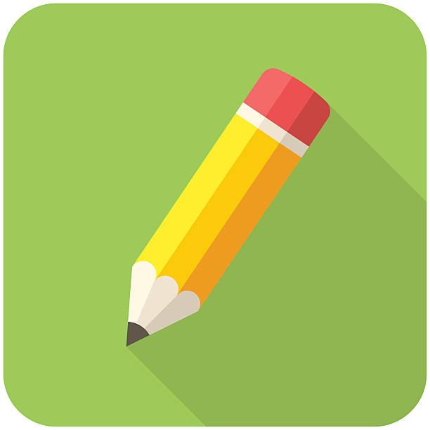 stockillustraties, clipart, cartoons en iconen met compose icon - potlood