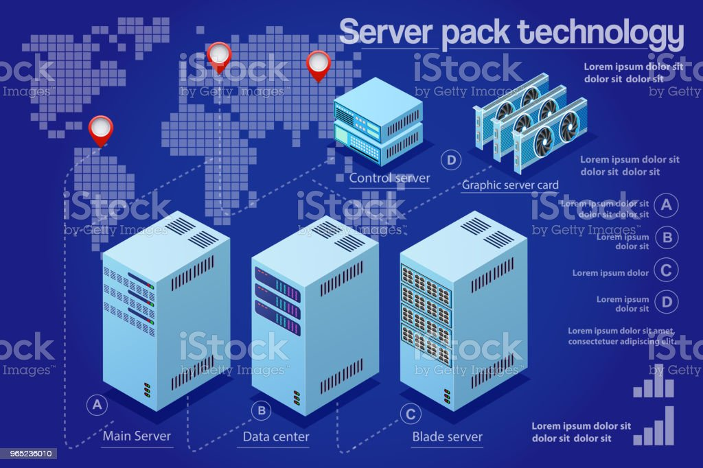 Computer 3d isometric royalty-free computer 3d isometric stock vector art & more images of backgrounds