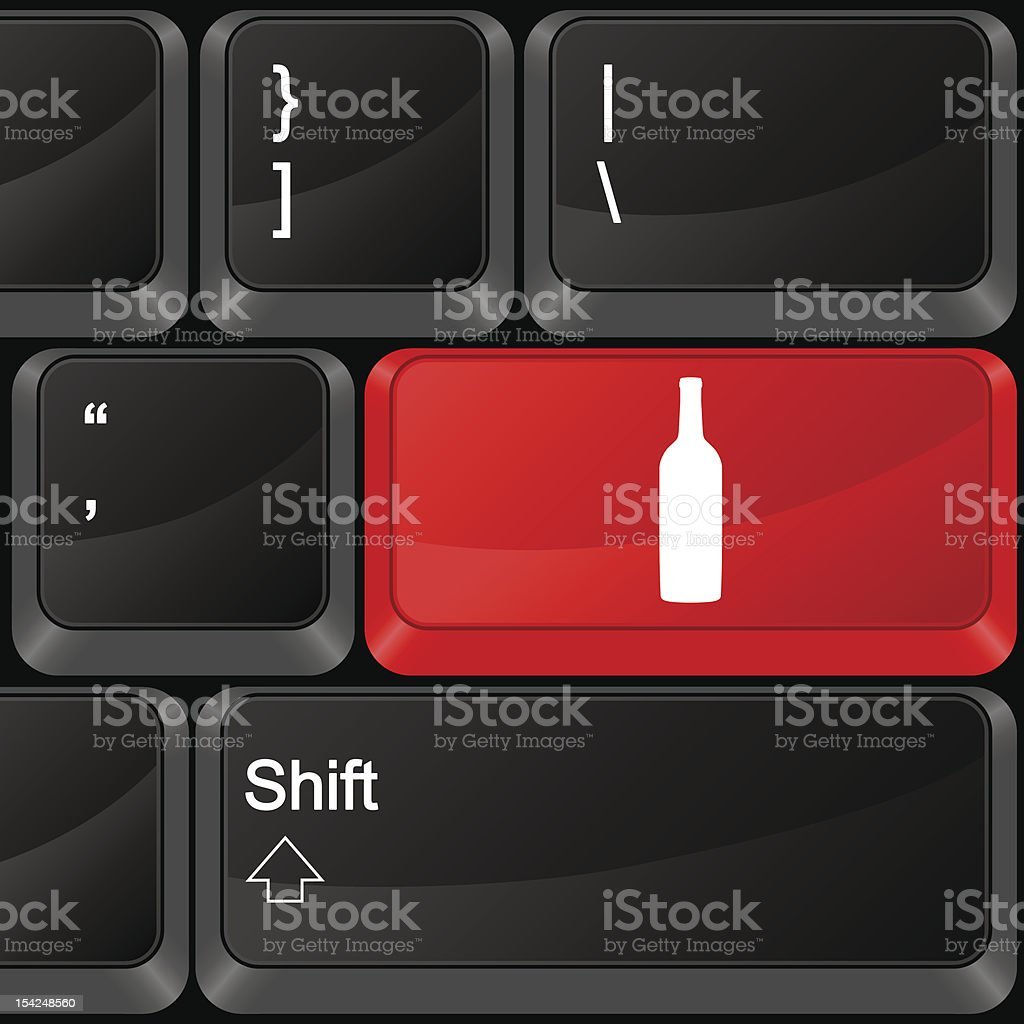 computer button drink royalty-free computer button drink stock vector art & more images of alcohol