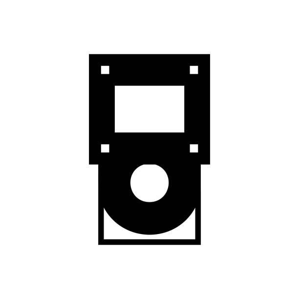 Computer Cd Rom Icon Dvd Driver Sign Stock Illustration