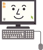 Computer character (smile).