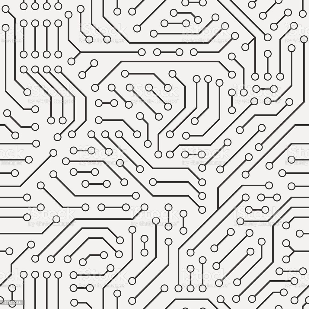 computer circuit board seamless pattern stock vector art  u0026 more images of abstract 613520384