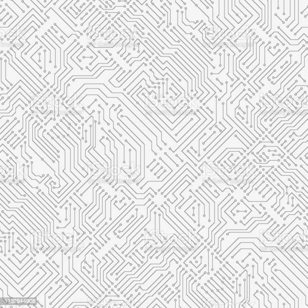 Dator Kretskort-vektorgrafik och fler bilder på Abstrakt