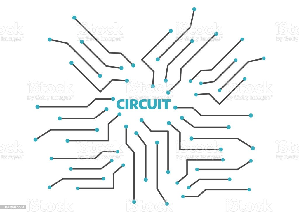 computer circuit motherboard electronic circuit vector backgroundcomputer circuit motherboard electronic circuit vector background technology circuit pattern illustration