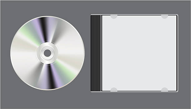 ilustrações, clipart, desenhos animados e ícones de disco de computador - cd