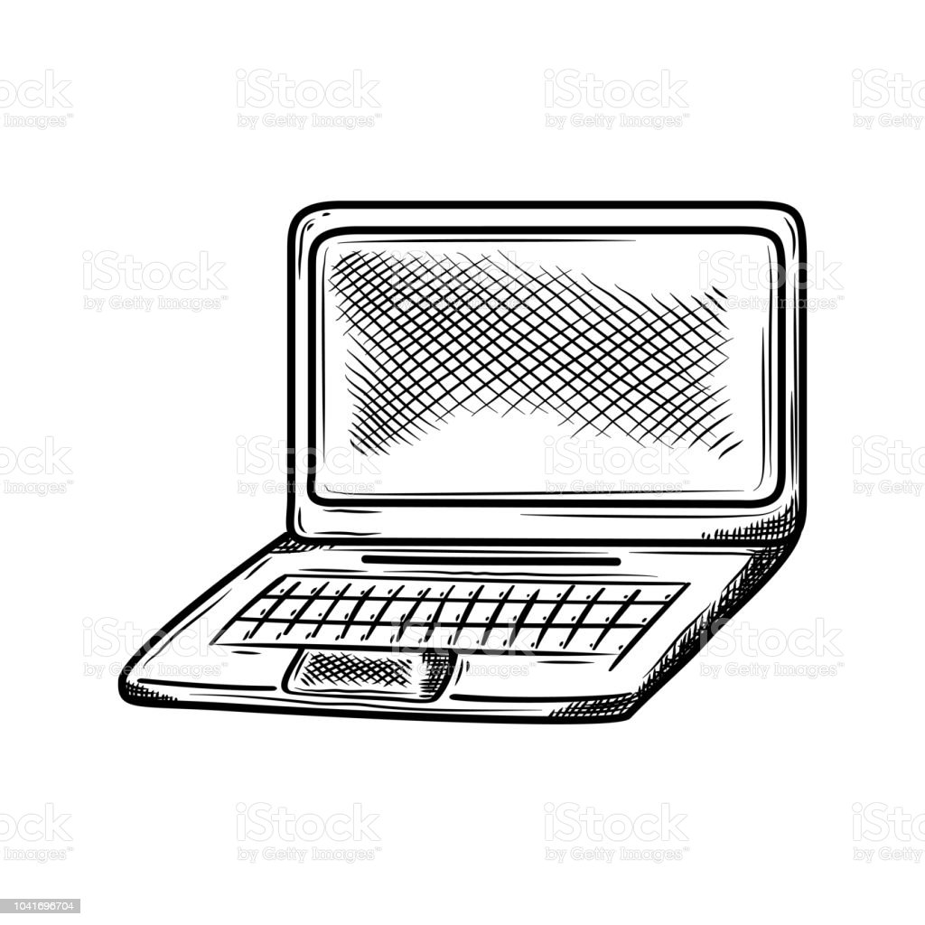 puter gadget icon doodle vector illustration isolated on white Connect to Wi-Fi Network puter gadget icon doodle vector illustration isolated on white background hand drawn sketch drawing