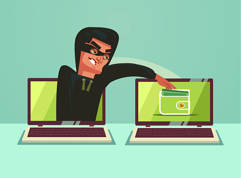 Fraud stock illustrations