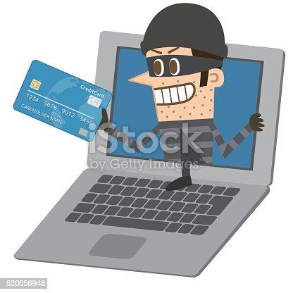istock Computer hacker 520056948