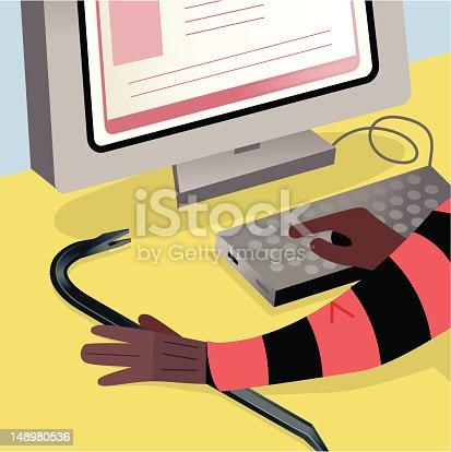 istock Computer Hacking 148980536