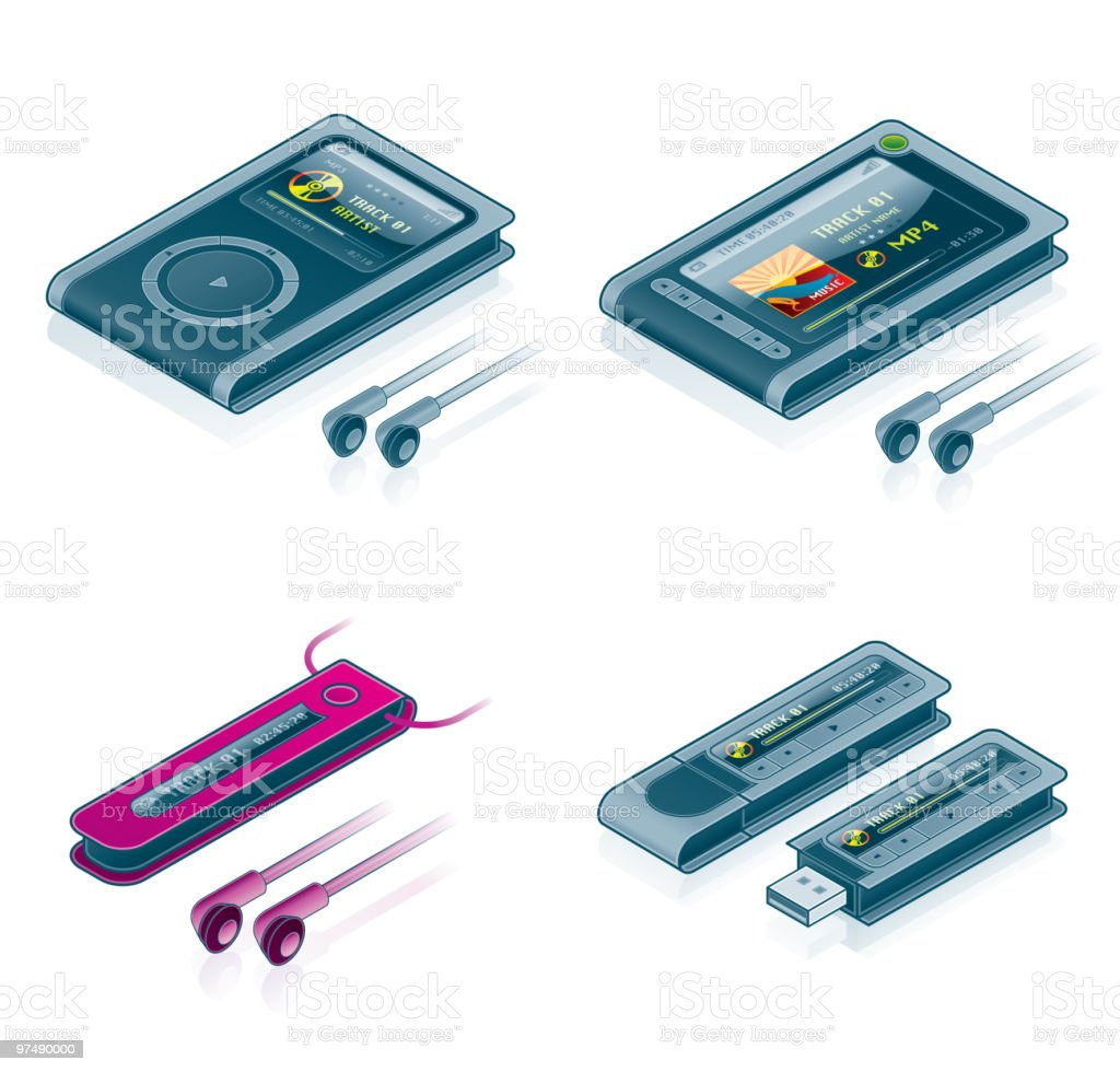 Computer Hardware Icons Set. Design Elements royalty-free computer hardware icons set design elements stock vector art & more images of at the edge of