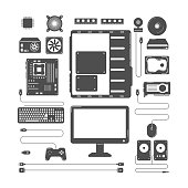Computer hardware parts