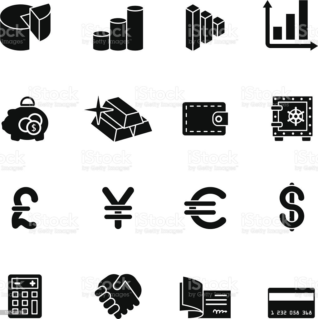 computer icon set royalty-free computer icon set stock vector art & more images of agreement