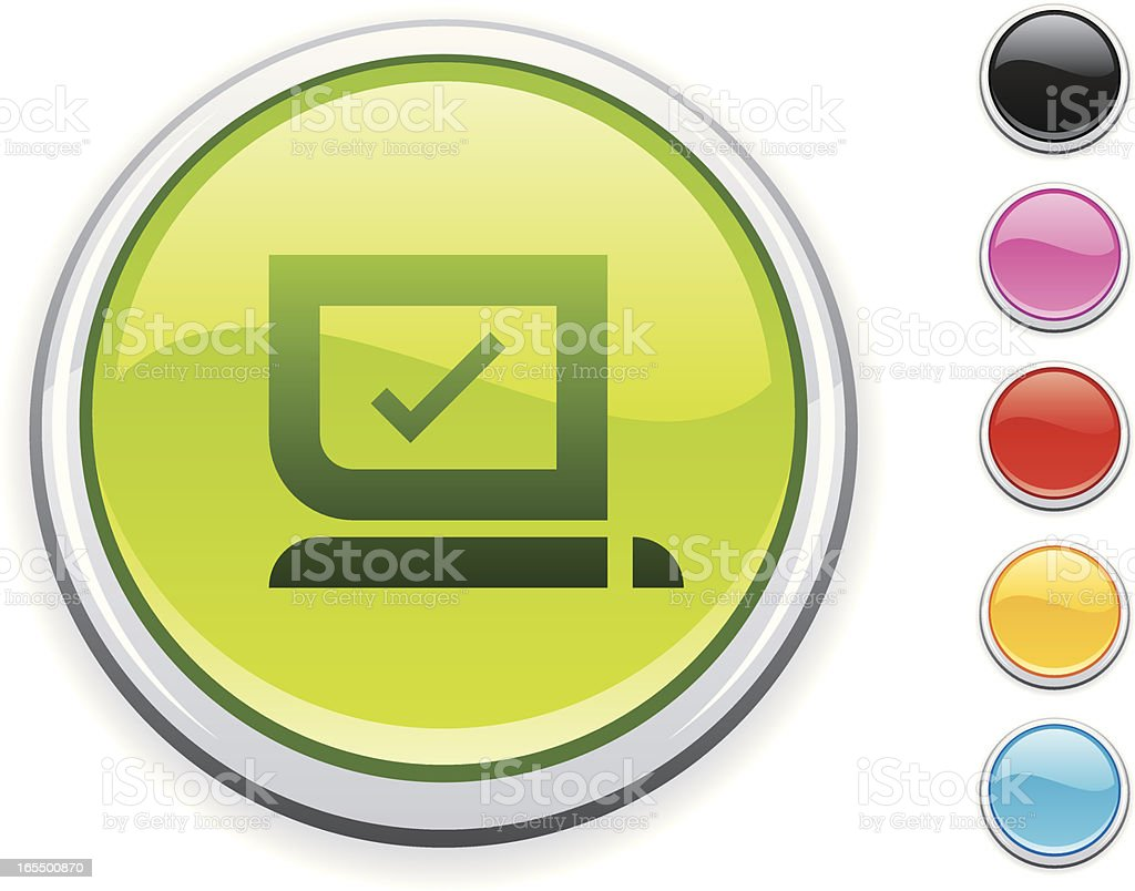 Computer icon royalty-free stock vector art