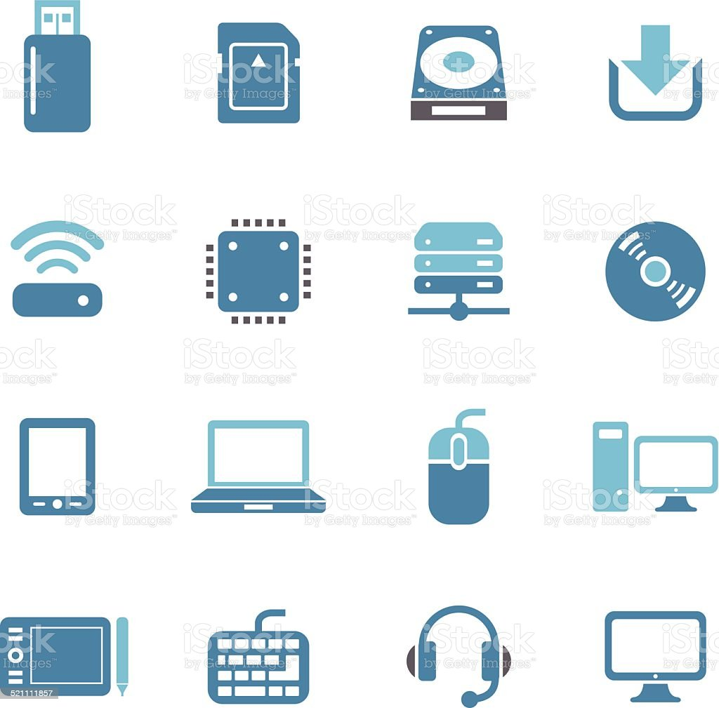 Computer Icons - Conc Series vector art illustration