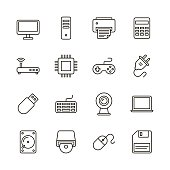 Computer icons - Line Series