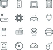 Computer icons - line