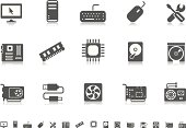 Computer icons | Pictoria series