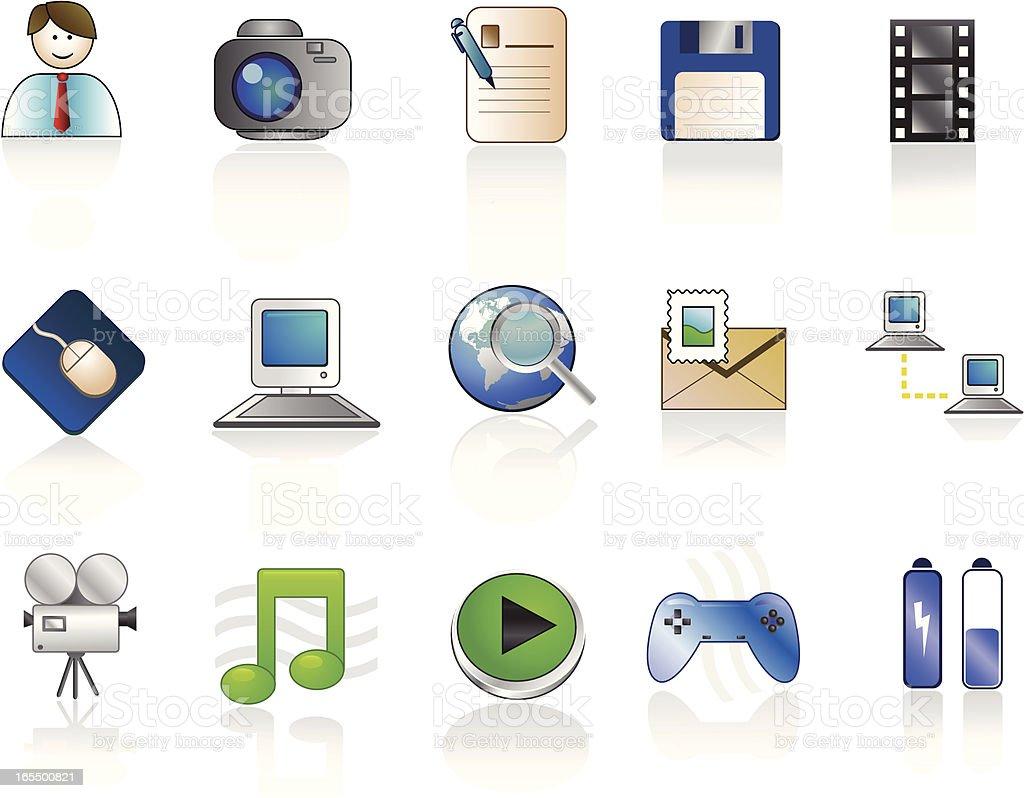 computer icon – Vektorgrafik