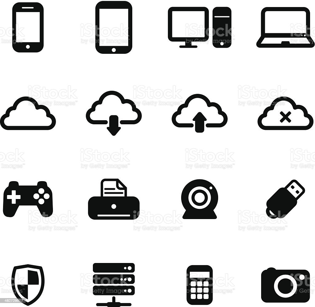 Computer Icons royalty-free computer icons stock vector art & more images of antivirus software