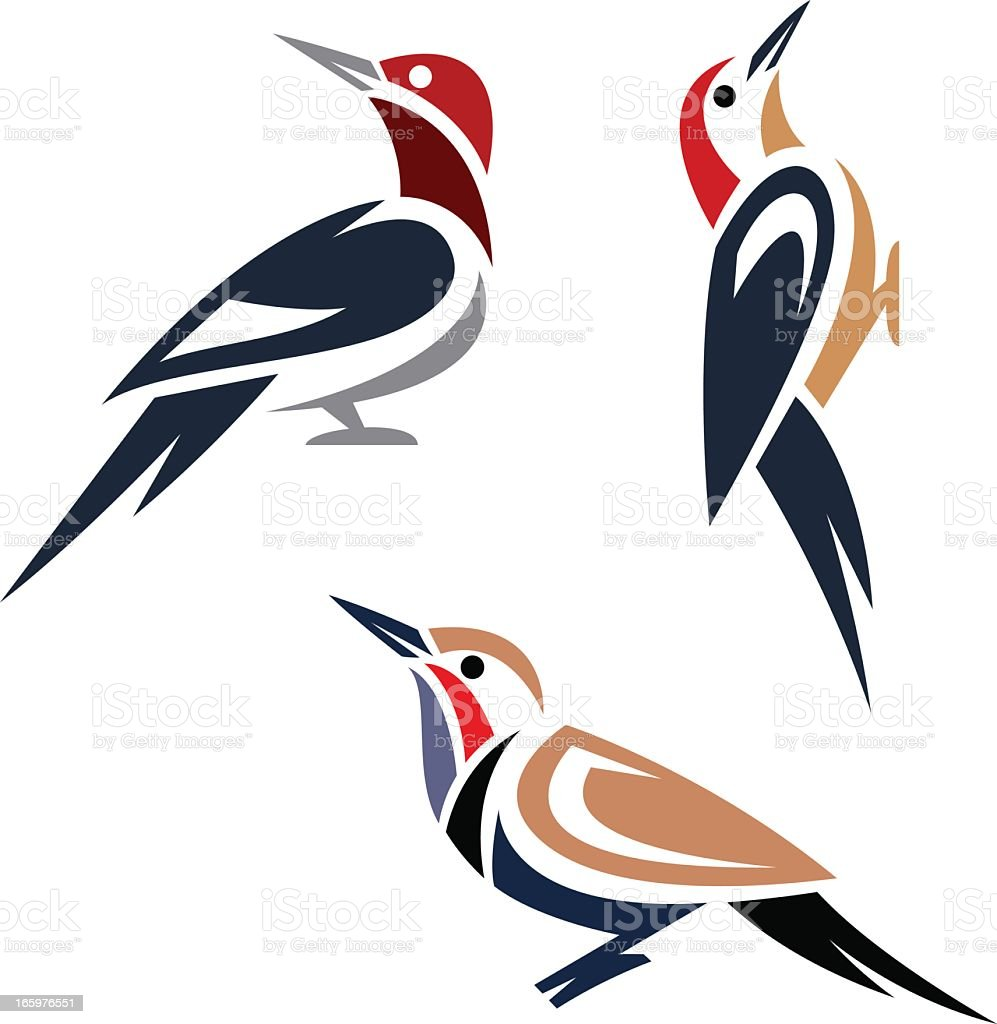 royalty free woodpecker clip art vector images illustrations istock rh istockphoto com pileated woodpecker clipart pileated woodpecker clipart