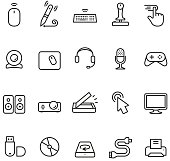 Computer Input and Part icon