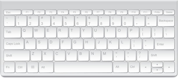 Computer Keyboard High resolution jpeg included. computer keyboard stock illustrations