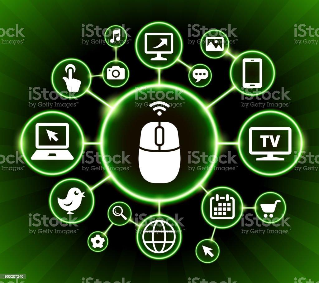 Computer Mouse Internet Communication Technology Dark Buttons Background computer mouse internet communication technology dark buttons background - stockowe grafiki wektorowe i więcej obrazów czarne tło royalty-free