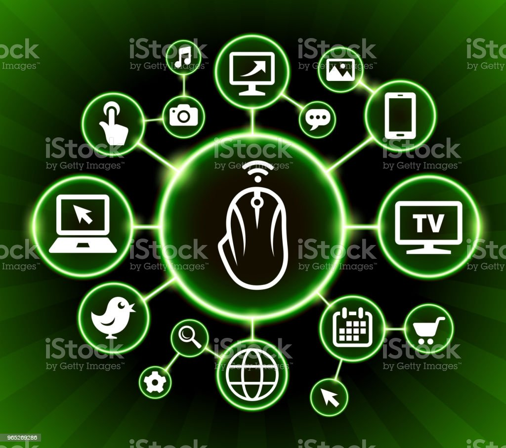 Computer Mouse Internet Communication Technology Dark Buttons Background computer mouse internet communication technology dark buttons background - stockowe grafiki wektorowe i więcej obrazów czarne tło royalty-free