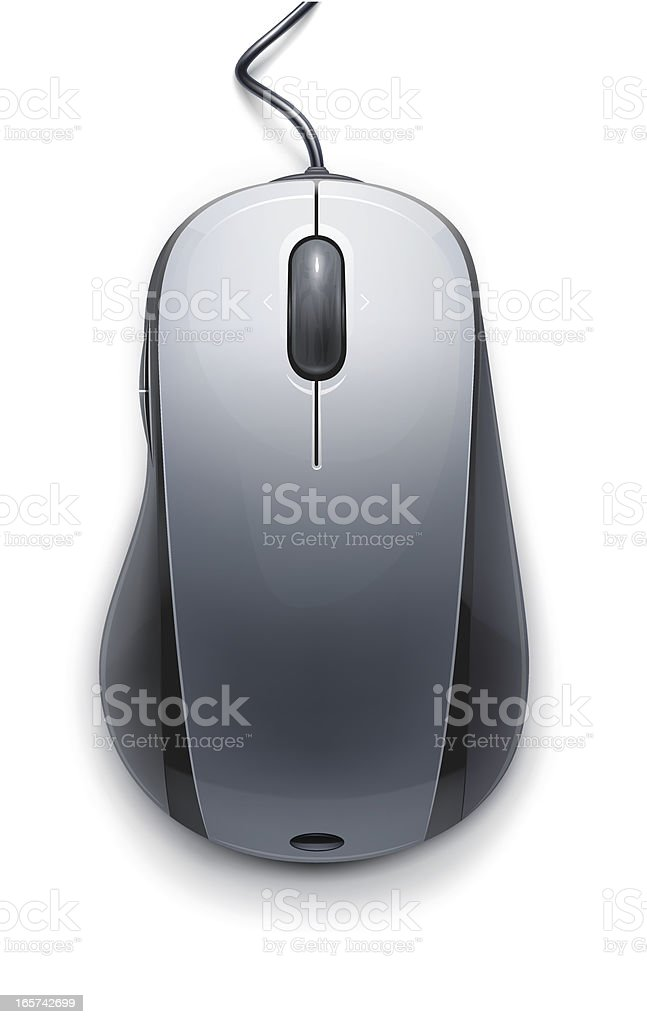 Computer mouse royalty-free computer mouse stock vector art & more images of black color