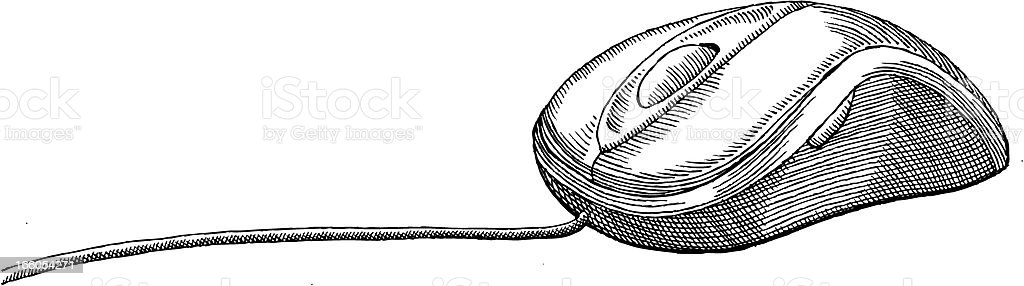 Computer Mouse royalty-free computer mouse stock vector art & more images of black and white