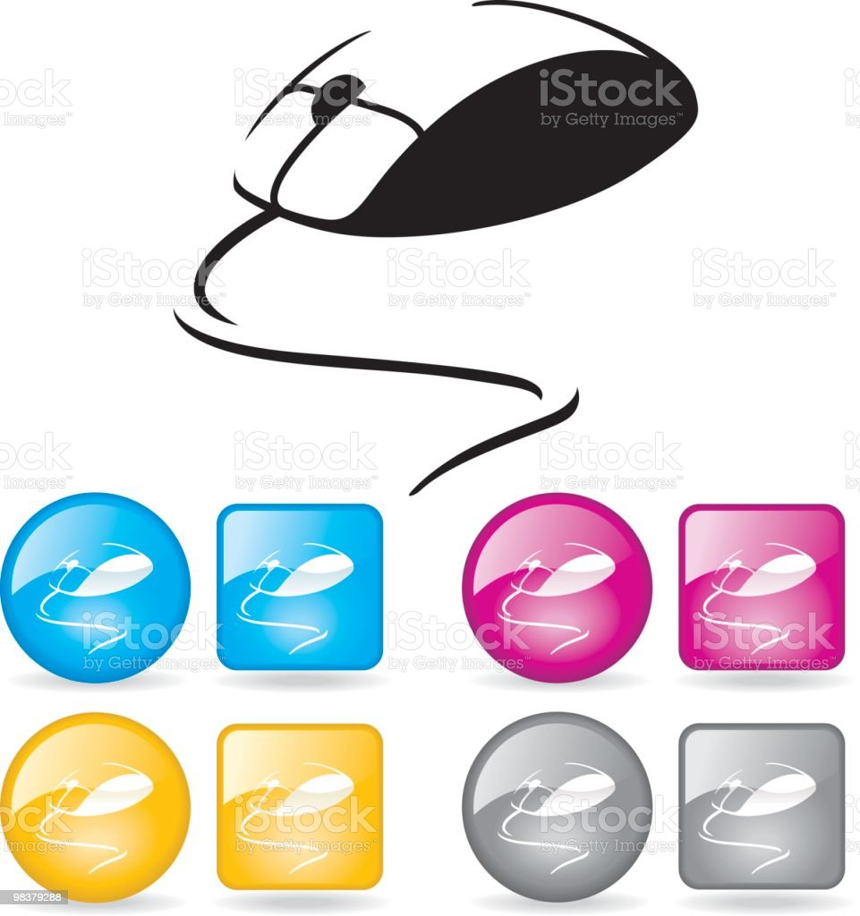 Computer Mouse royalty-free computer mouse stock vector art & more images of blue