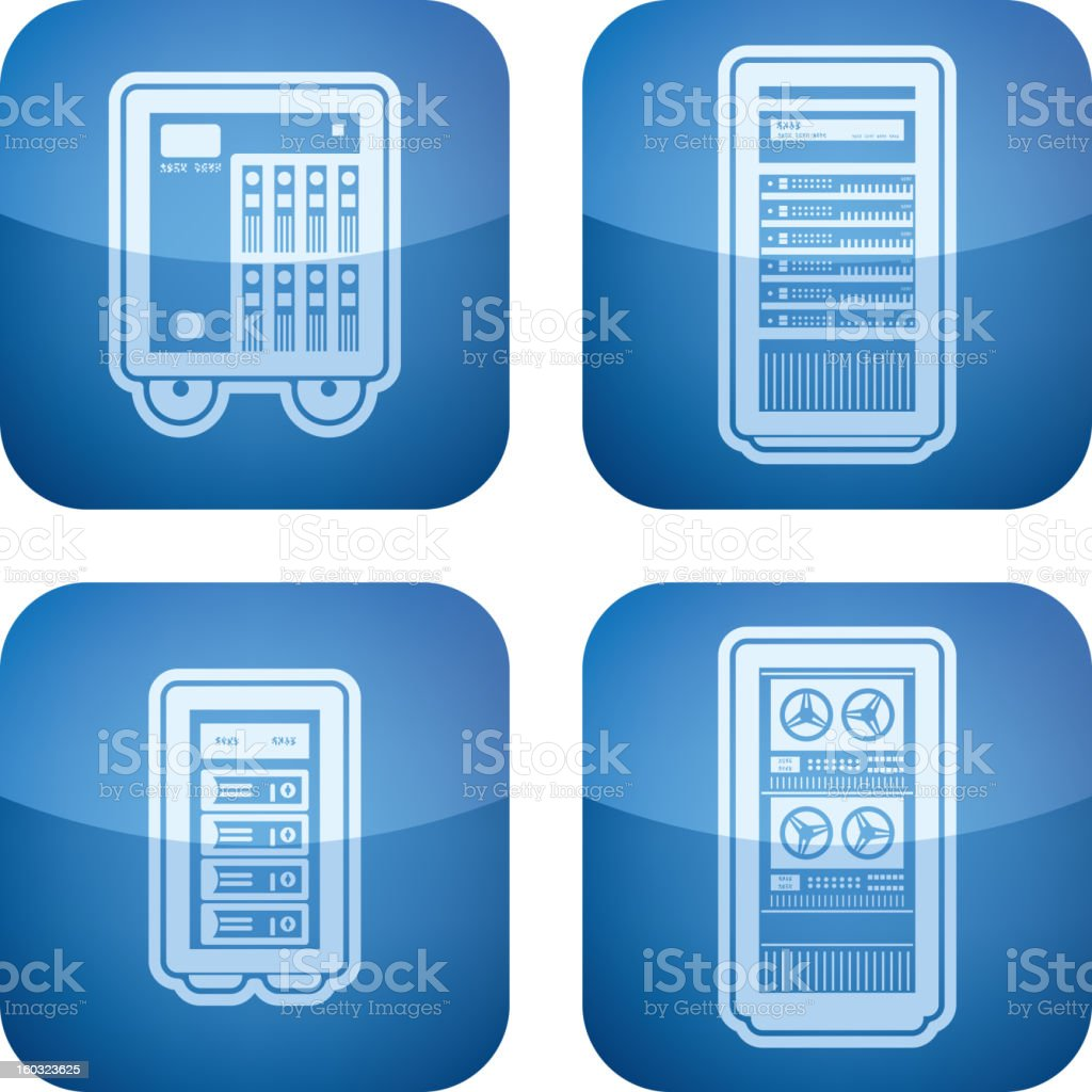 Computer parts royalty-free computer parts stock vector art & more images of blue