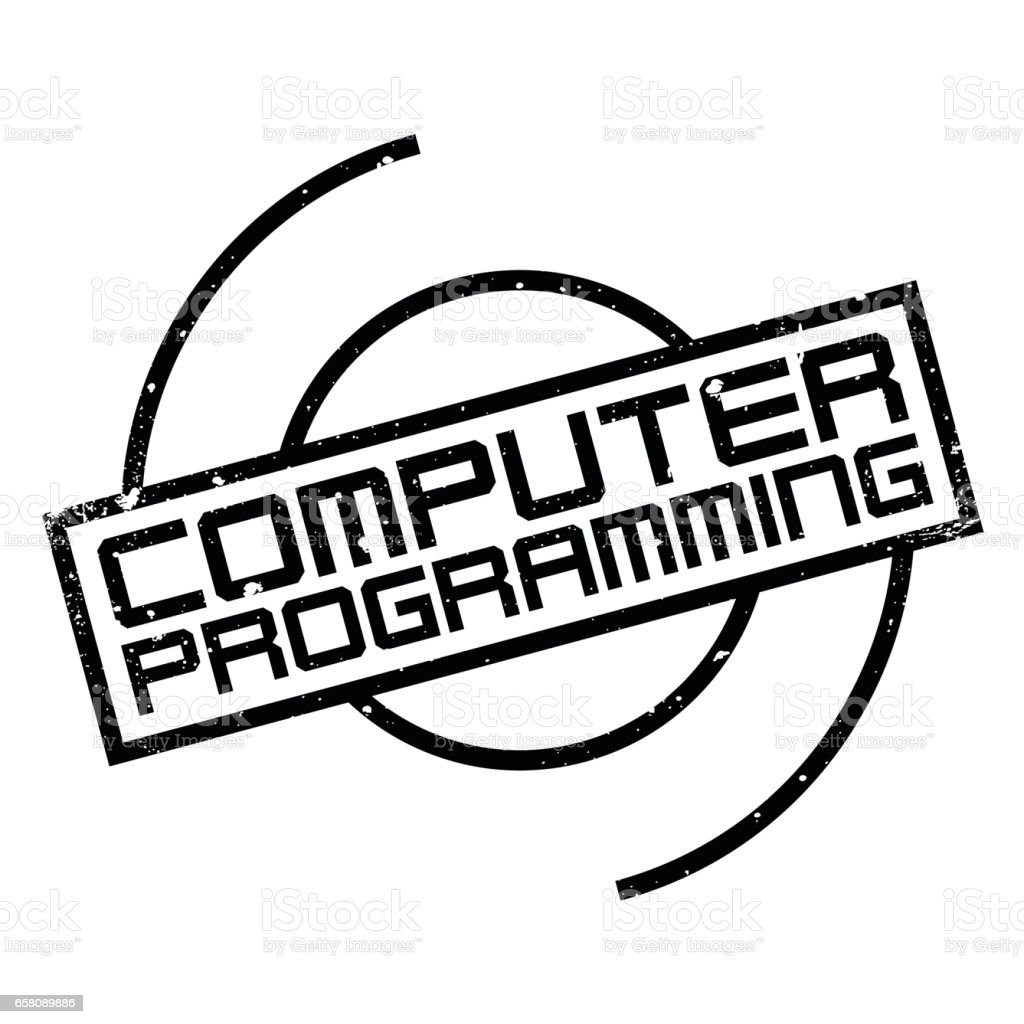 Computer Programming rubber stamp royalty-free computer programming rubber stamp stock vector art & more images of aging process