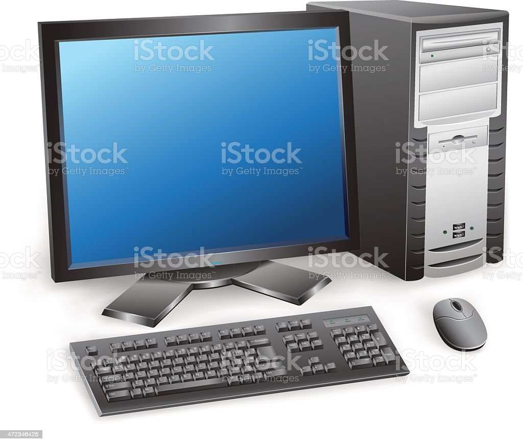 computer royalty-free stock vector art