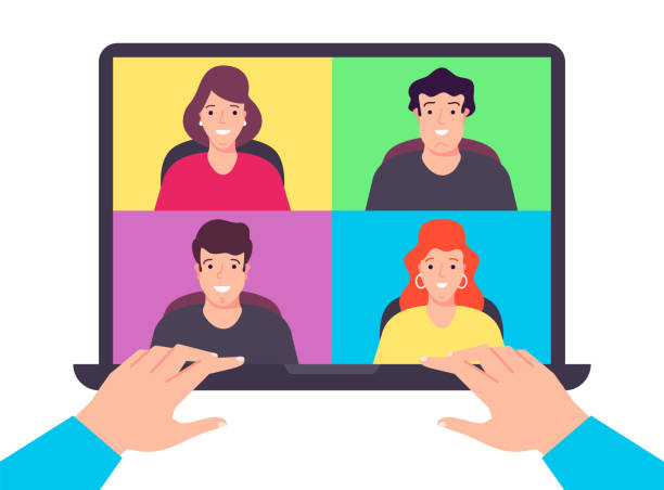 computer-protect-character copy-04 - group of people stock illustrations