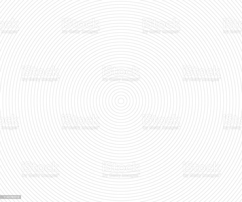 Concentric Circle Elements, Backgrounds. Abstract circle pattern. Black and white graphics - arte vettoriale royalty-free di Ambiente