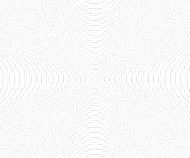 illustrazioni stock, clip art, cartoni animati e icone di tendenza di concentric circle elements, backgrounds. abstract circle pattern. black and white graphics - motivo concentrico
