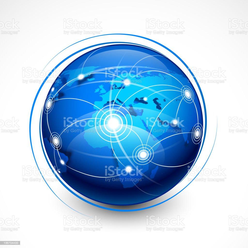 Concept internet communication royalty-free stock vector art