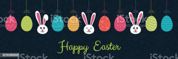 Concept of a panoramic header for easter hanging bunnies and eggs vector id925066900?b=1&k=6&m=925066900&s=612x612&h=rblmh0fmttao15uqfswm8ve8gu3b3teikszzhgfwgey=