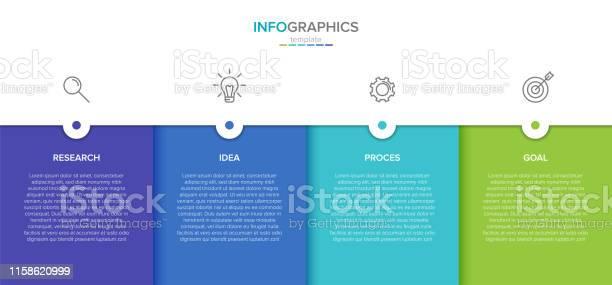 Concept of arrow business model with 4 successive steps four colorful vector id1158620999?b=1&k=6&m=1158620999&s=612x612&h=irhvx1rkjesargjjjnsjryujm ay dt1xsmc zycmm8=