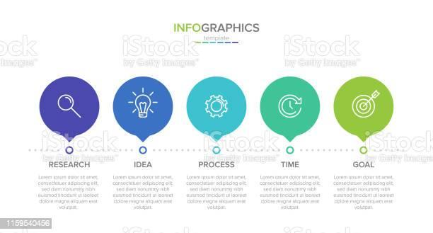 Concept of arrow business model with 5 successive steps five colorful vector id1159540456?b=1&k=6&m=1159540456&s=612x612&h=1 jsbj9beetfrtdo0fsxnrtz2bgbsb3zusrd7qlzht8=