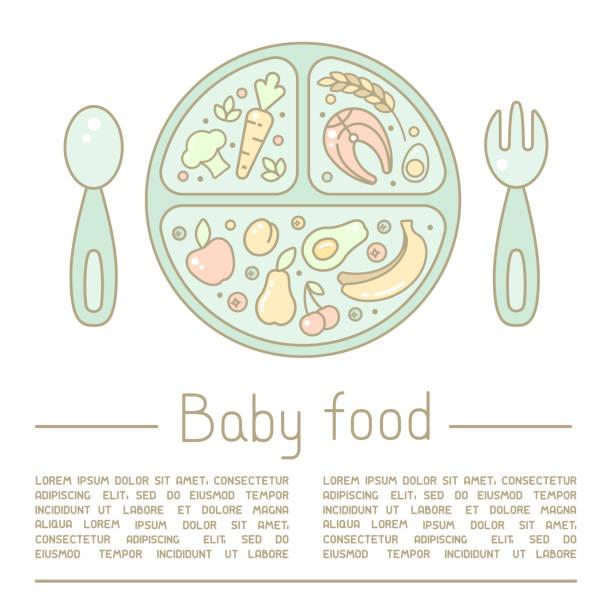 Best Cartoon Of The Baby Food Jar Illustrations, Royalty ...