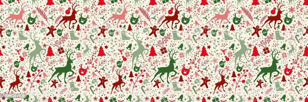 Ilustración De Concepto De Fondo De Pantalla De Navidad Con