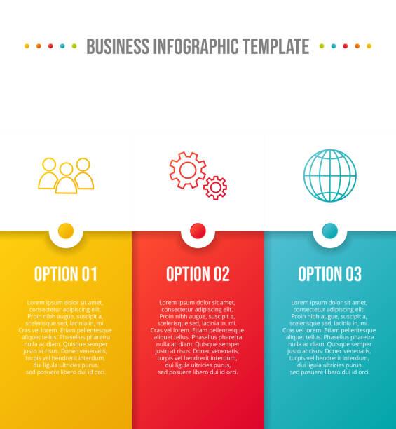 stockillustraties, clipart, cartoons en iconen met concept van het bedrijf timeline-business infograph. vector - wat