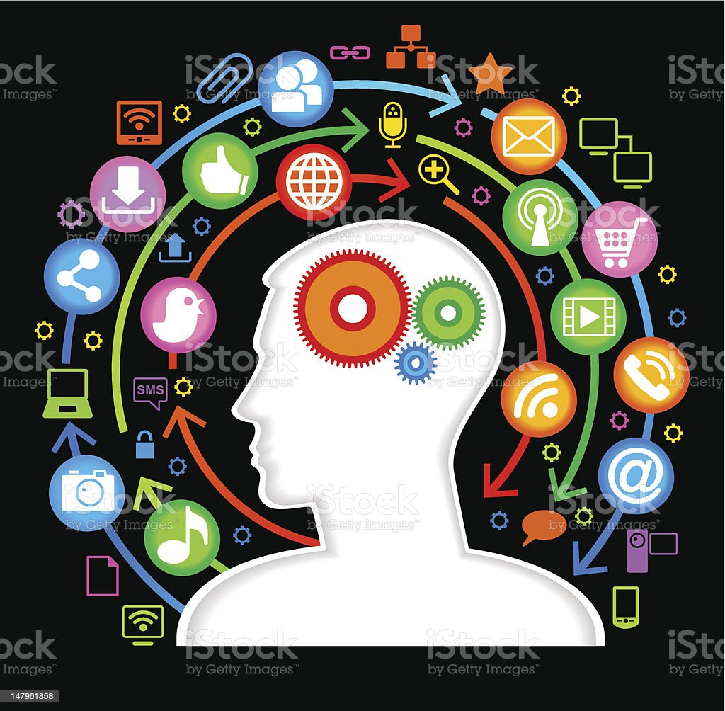 concept of human communication royalty-free concept of human communication stock vector art & more images of abstract