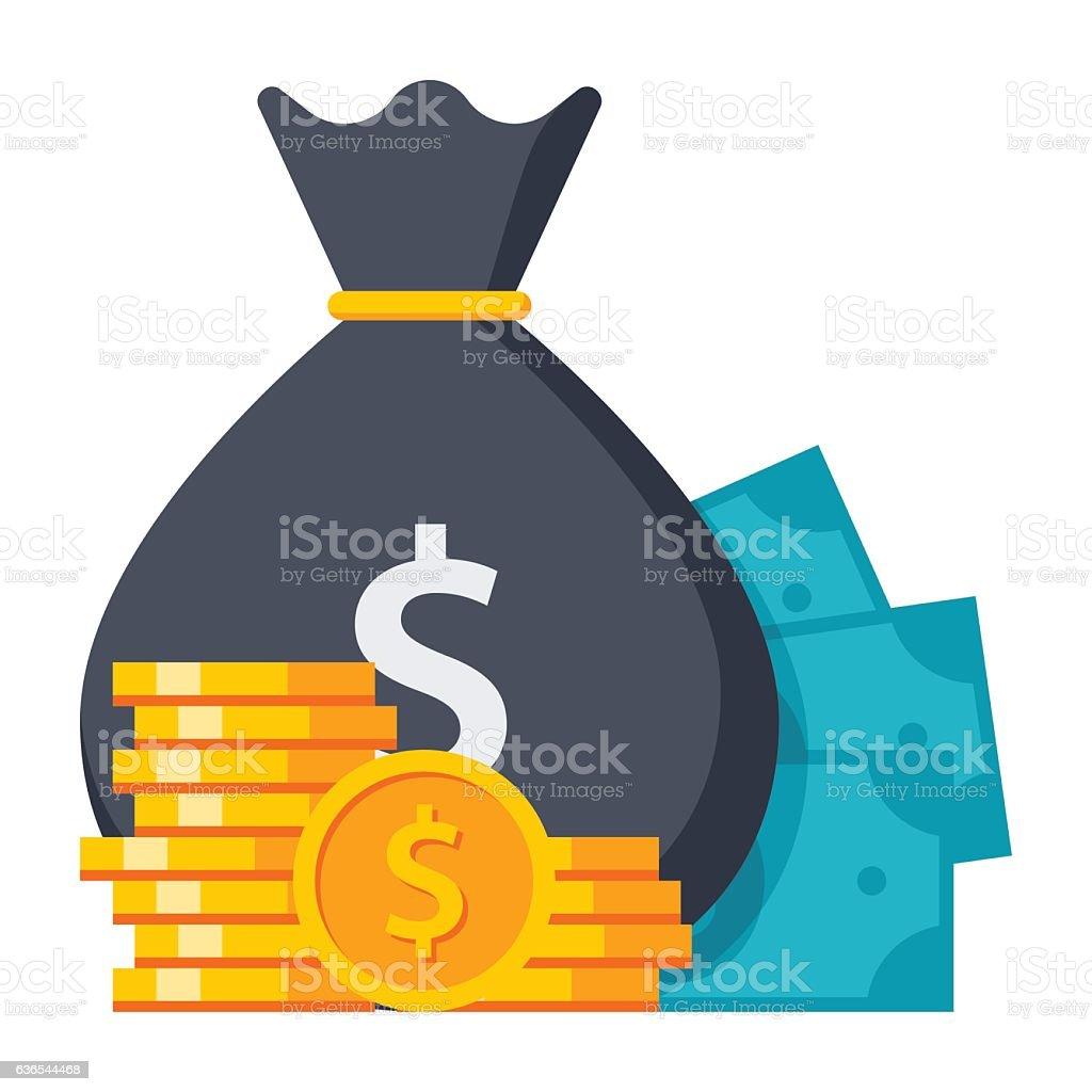 Concept of Money - Illustration vectorielle