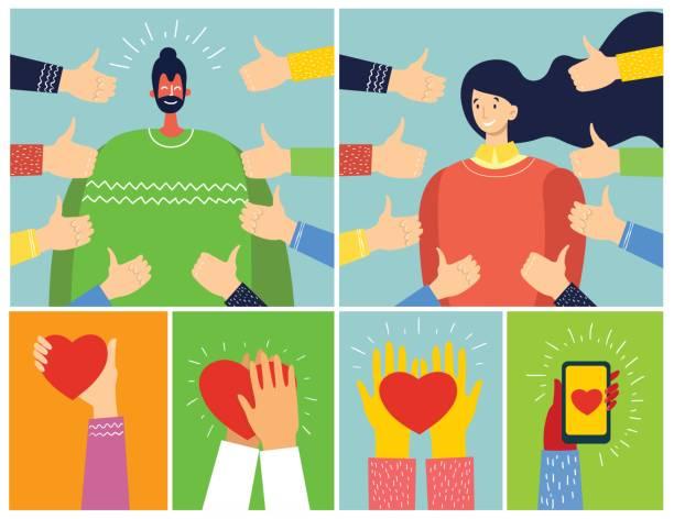 konzept der öffentlichen zulassung - danke stock-grafiken, -clipart, -cartoons und -symbole