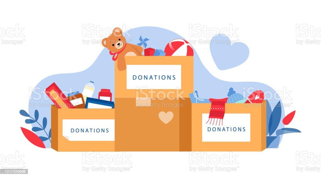 Donation Stock Illustrations – 49,249 Donation Stock Illustrations, Vectors  & Clipart - Dreamstime