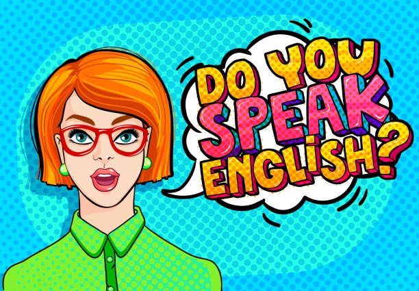 concept of studying english. - language class stock illustrations, clip art, cartoons, & icons